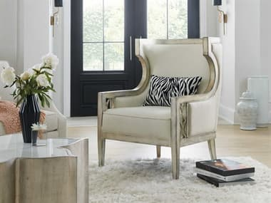 Hooker Furniture Sanctuary-2 Silver Accent Chair HOO58755200595