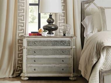 Hooker Furniture Sanctuary-2 Blanc Four-Drawers Nightstand HOO58659020280