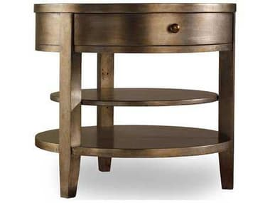 Hooker Furniture Sanctuary 28'' Wide Round Lamp End Table HOO301450003