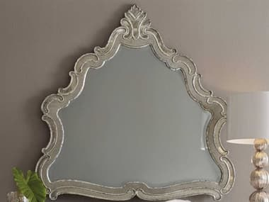 Hooker Furniture Sanctuary Greige with Shimmer on Oak Wall Mirror HOO560390008LTBR