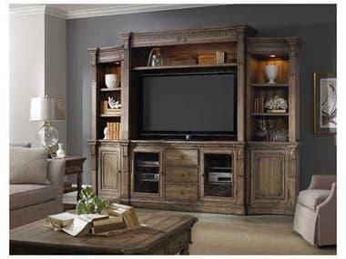 Hooker Furniture Sorella Antique Taupe 122''L x 23''W Entertainment Center HOO510770222