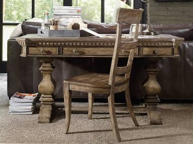 Hooker Furniture Sorella Antique Taupe 60''L x 29''W Rectangular Writing Desk HOO510710458