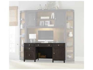 Hooker Furniture South Park Charcoal 66''L x 24''W Rectangular Computer Credenza HOO507810464