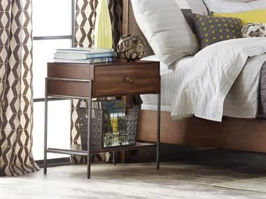 Hooker Furniture Studio 7h Medium Wood One-Drawer Nightstand HOO538890016