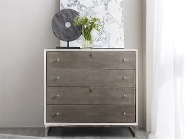 Hooker Furniture White & Grey Sophisticated Lateral File Cabinet HOO562210466WH
