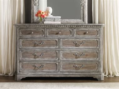 Hooker Furniture True Vintage Soft Driftwood Double Dresser HOO570190002