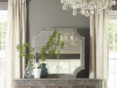 Hooker Furniture True Vintage Soft Driftwood 42''W x 30''H Wall Mirror HOO570190008