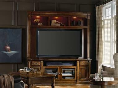 Hooker Furniture Tynecastle Medium Wood 85''L x 21''W Entertainment Center HOO532355202
