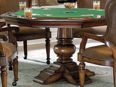 Hooker Furniture Waverly Place Distressed Antique Cherry Game Table HOO36675800