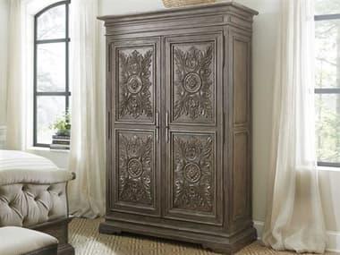 Hooker Furniture Woodlands Medium Wood Wardrobe Armoire HOO58209001385