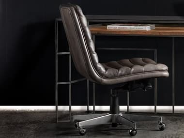 Hooker Furniture Wyatt Memento Medal with Chrome Computer Chair HOOEC591CH097