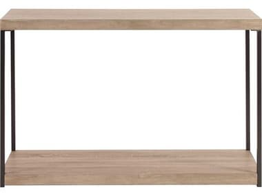Howard Elliott Wood & Metal 47.5 x 16.25 Console Table HE83036