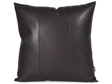 Howard Elliott Square 20 x 20 Black Pillow HE2194