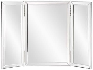 Howard Elliott Tripoli Trifold Vanity 21 x 21 Wall Mirror HE99003
