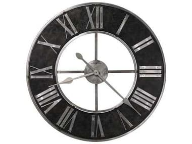 Howard Miller Dearborn Satin Steel Oversized Gallery Wall Clock HOW625573