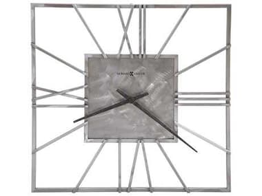 Howard Miller Lorain Natural Machined Steel Oversized Gallery Wall Clock HOW625611