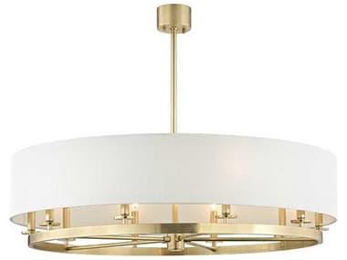 Hudson Valley Lighting Durham Aged Brass 10 42'' Wide Large Chandelier HV6542AGB