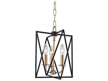Hudson Valley Lighting Laszlo Aged Brass 3 10'' Wide Mini Chandelier HV1110AGB