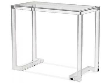 Interlude Home Clear Computer Desk IL139001