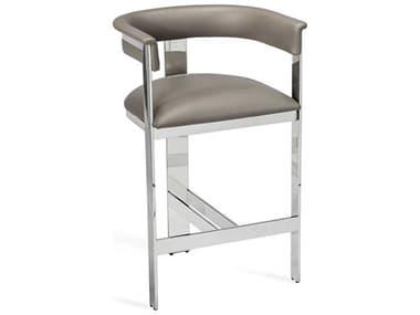 Interlude Home Darcy Grey/ Nickel Counter Stool IL148105