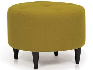 ION Design Parry Velour Olive / Espresso Ottoman IDP30311
