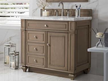 James Martin Furniture Bristol White Washed Walnut 36'' Wide Single Vanity JS157V36WW