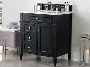 James Martin Furniture Brittany Black Onyx 30'' Wide Single Vanity JS650V30BKO