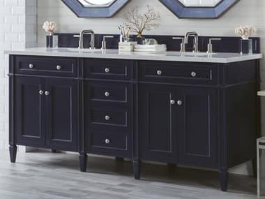 James Martin Furniture Brittany Victory Blue 70'' Wide Double Vanity JS650V72VBL