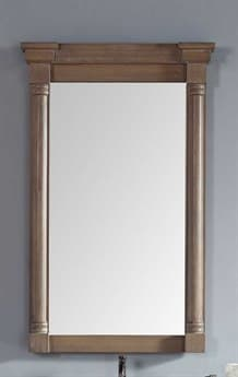 James Martin Furniture Savannah/providence Driftwood Wall Mirror JS2381075911