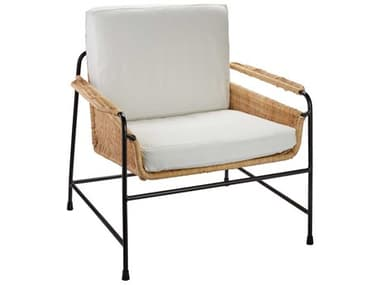 Jamie Young Company Natural With Off White Cushion Accent Chair JYC20PALECHNA