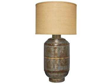 Jamie Young Company Gunmetal 1-Light Buffet Lamp JYC1CAISXLGM