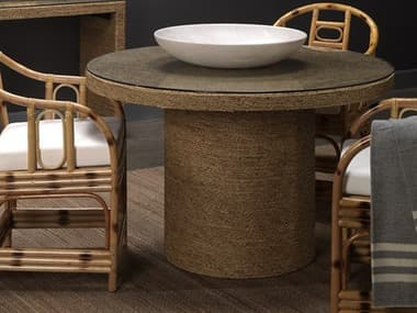 Jamie Young Company Harbor Natural 30'' Wide Round Dining Table JYC20HARBBINA