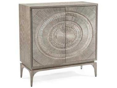 John Richard Cosmos Gray Oak 41.75'' x 18.25'' Two-Door Accent Cabinet JREUR040413