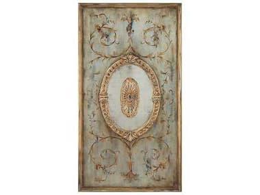 John Richard Eye Candy Panel With Mirror I Painting JRGBG0758A