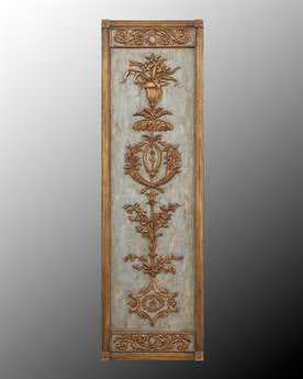 John Richard Hand Carved Wood Panel I Wall Art JRGBG0455A