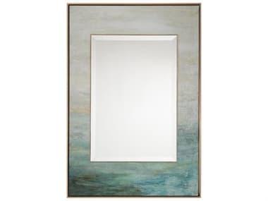John Richard Water Flows Blue 31.25'' x 46.25'' Rectangular Wall Mirror JRJRM0904