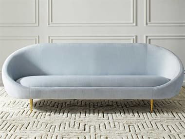 Jonathan Adler Ether Bergamo Ice Sofa Couch JON24246