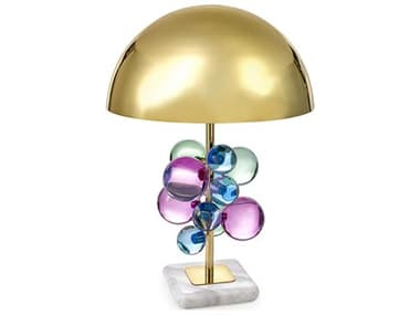 Jonathan Adler Globo Multi / Brass Buffet Lamp JON21739