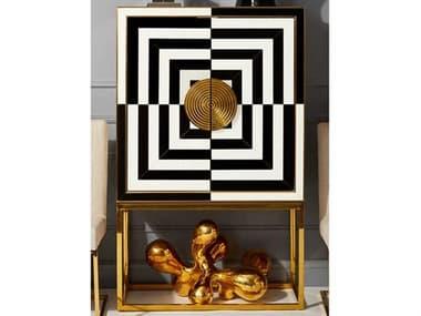 Jonathan Adler Op Art Bar Cabinet JON27591