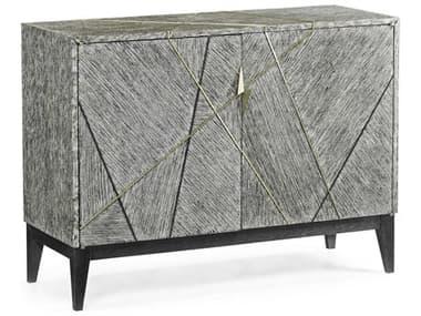 Jonathan Charles Geometric Dark French Oak 45'' Wide Buffet JC500288DFO