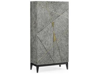 Jonathan Charles Geometric Dark French Oak Wardrobe Armoire JC500287DFO