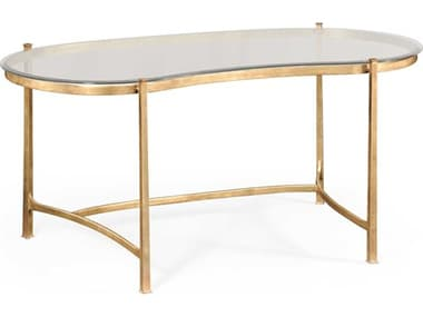 Jonathan Charles Luxe Gilded Iron Conference Desk JC494214G
