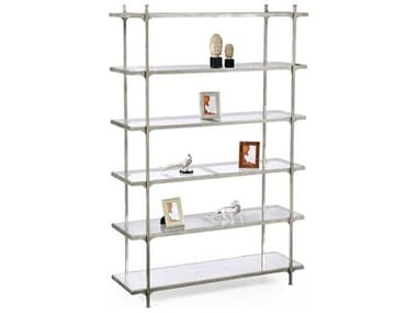 Jonathan Charles Luxe Light Antique Silver Etagere JC494194S