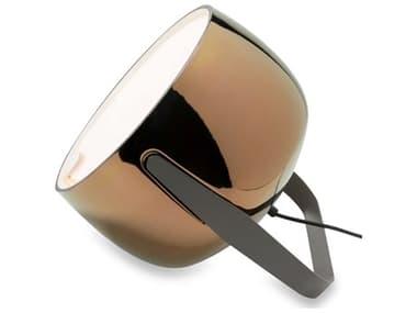 Karman Bag Glossy Bronze / Charcoal-Grey 1-light LED Table Lamp KAMHP154ARV11