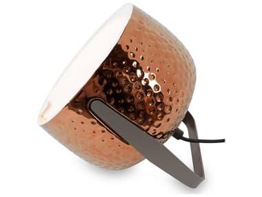 Karman Bag Glossy Bronze / Charcoal-Grey 1-light LED Table Lamp KAMHP154BRV11