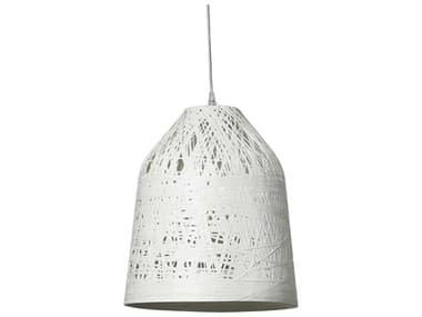Karman Black Out White 1-light LED Outdoor Hanging Light KAMSE1012BV1E