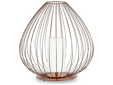Karman Cell Lacquered Glossy Bronze 1-light 33'' Wide LED Outdoor Lamp KAMHP613BMV1E