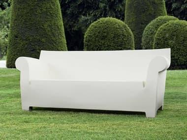 Kartell Bubble Club Zinc White Sofa KAR605060