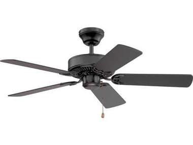 Kendal Lighting Builder Choice Black 42'' Wide Ceiling Fan KENAC6842BLK