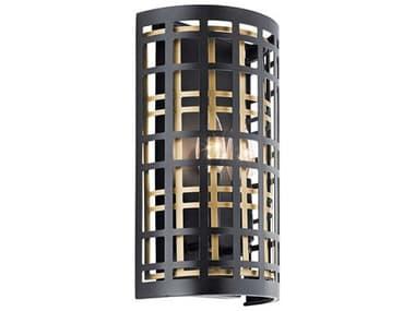 Kichler Lighting Aldergate Black 2-light Vanity Light KIC44079BK